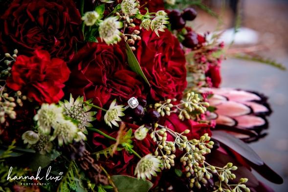 Winter bouquet detail 2