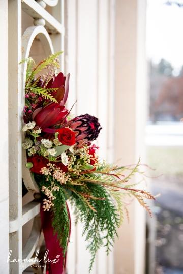 Winter bridal bouquet 4